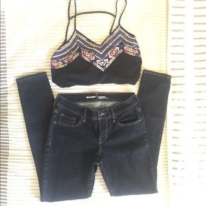 Old Navy NWOT Original MidRise Skinny Jeans